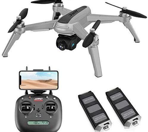 41Fo0UOYhL. AC  498x445 - 40mins(20+20) Long Flight Time Drone for Adults,JJRC Drone with 2K FHD Camera Live Video, 5G WiFi FPV GPS Return Home Quadcopter with Brushless Motor, Follow Me, Long Control Range (Gray)