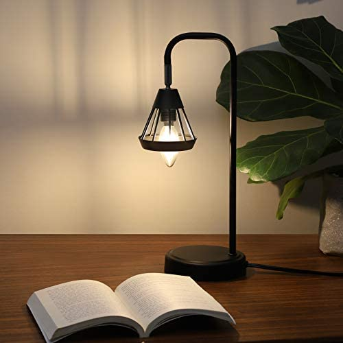 41IEpnnOgFL. AC  - DEWENWILS Industrial Table Lamp with USB Port, 3 Way Dimmable Desk Lamp, Modern Touch Control Bedside Nightsand Lamp for Bedroom, Office, Living Room, 3000K E12 Bulb Included