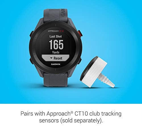 41Lqdpk+PNL. AC  - Garmin Approach S12, Easy-to-Use GPS Golf Watch, 42k+ Preloaded Courses, Granite Blue, 010-02472-01