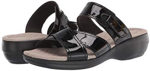 41NyoMkZx7L. AC  - Clarks Women's Alexis Art Flat Sandal