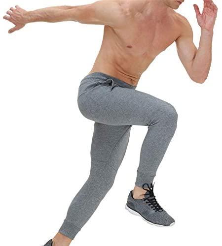 41OK1OxCSZL. AC  - snowhite Mens Casual Jogger Sweatpants Pants - Leisure Fashion Sport Pants with Pockets and Elastic Waist