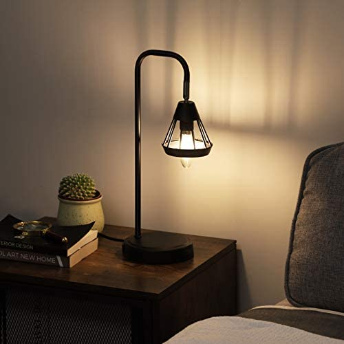 41VIgGxVTJL. AC  - DEWENWILS Industrial Table Lamp with USB Port, 3 Way Dimmable Desk Lamp, Modern Touch Control Bedside Nightsand Lamp for Bedroom, Office, Living Room, 3000K E12 Bulb Included