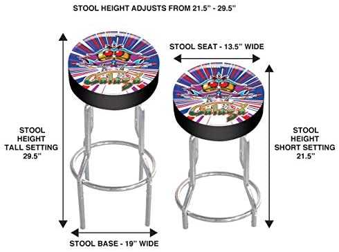 41ZHPGR6aAL. AC  - Arcade1UP Stool (Galaga)