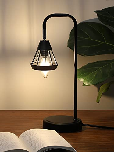 41mJrv6f hS. AC  - DEWENWILS Industrial Table Lamp with USB Port, 3 Way Dimmable Desk Lamp, Modern Touch Control Bedside Nightsand Lamp for Bedroom, Office, Living Room, 3000K E12 Bulb Included