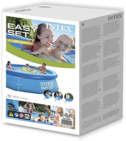 51ByNvFfOnL. AC  - Intex Easy Set Up 10 Foot x 30 Inch Pool