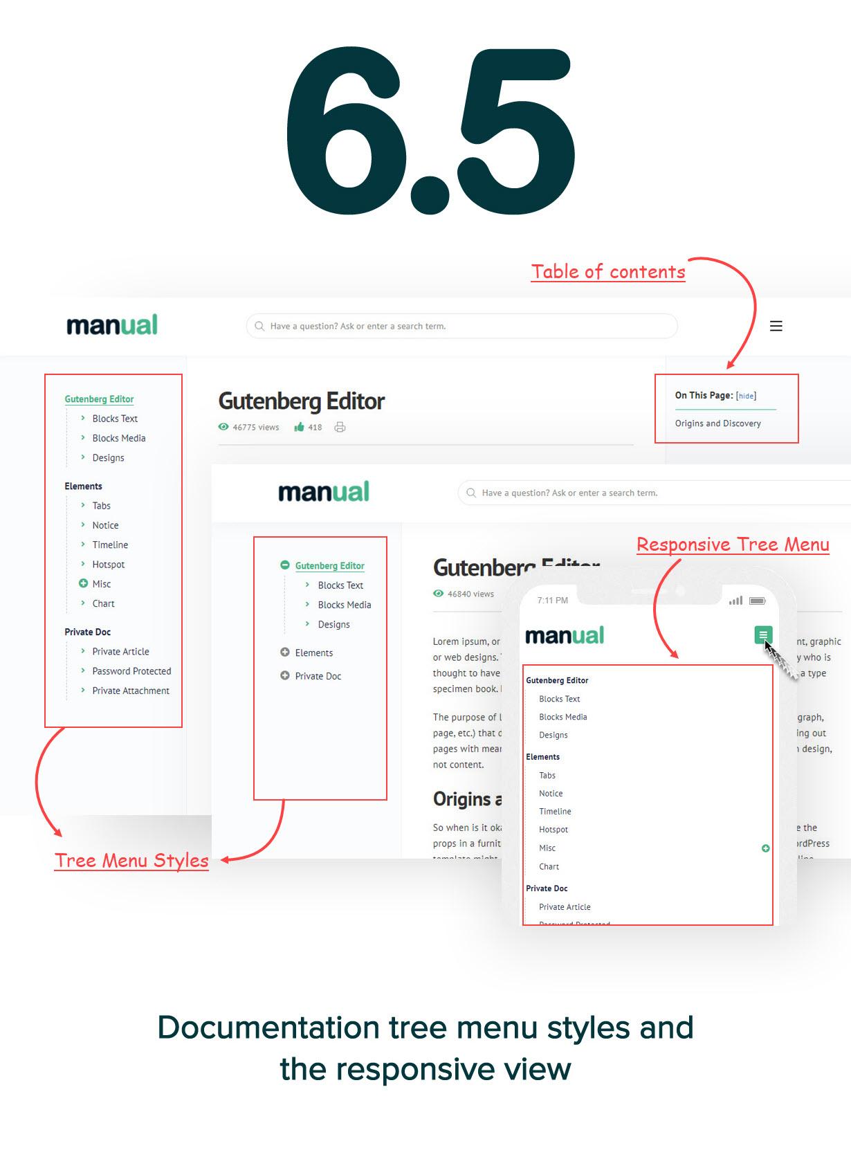 65 new version - Manual - Documentation, Knowledge Base & Education WordPress Theme