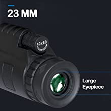 8f350726 9d72 4b14 9398 4d36a28db4f5.  CR0,0,1600,1600 PT0 SX220 V1    - Monocular Telescope, 12X50 High Definition BAK4 Prism Monocular with Smartphone Holder & Tripod for Hunting Hiking Traveling Bird Watching