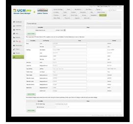 UCM theme customisation options for CRM - UCM Theme: White Label