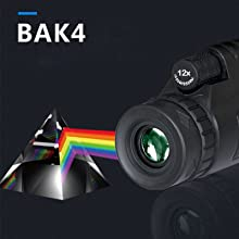 a2456e7c 7afb 40c7 a1d1 bdb0b95e713e.  CR0,0,1600,1600 PT0 SX220 V1    - Monocular Telescope, 12X50 High Definition BAK4 Prism Monocular with Smartphone Holder & Tripod for Hunting Hiking Traveling Bird Watching