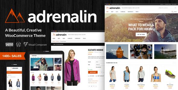 adrenalin preview.  large preview - Adrenalin - Multi-Purpose WooCommerce Theme