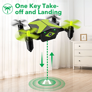b232a0e5 0d6b 4d43 8d56 9a45309c4b25.  CR0,0,300,300 PT0 SX300 V1    - Drone with Camera Drones for Kids Beginners, RC Quadcopter with App FPV Video, Voice Control, Altitude Hold, Headless Mode, Trajectory Flight, Foldable Kids Drone Boys Gifts Girls Toys-Green