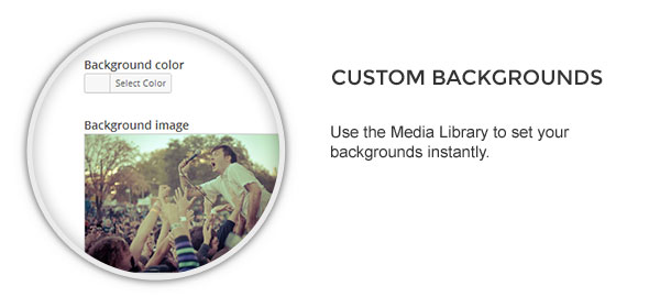 backgrounds - Speaker - One-Page Music Wordpress Theme