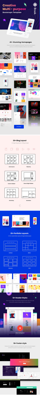 brook html 1 - Brook - Creative Agency & Business HTML Template