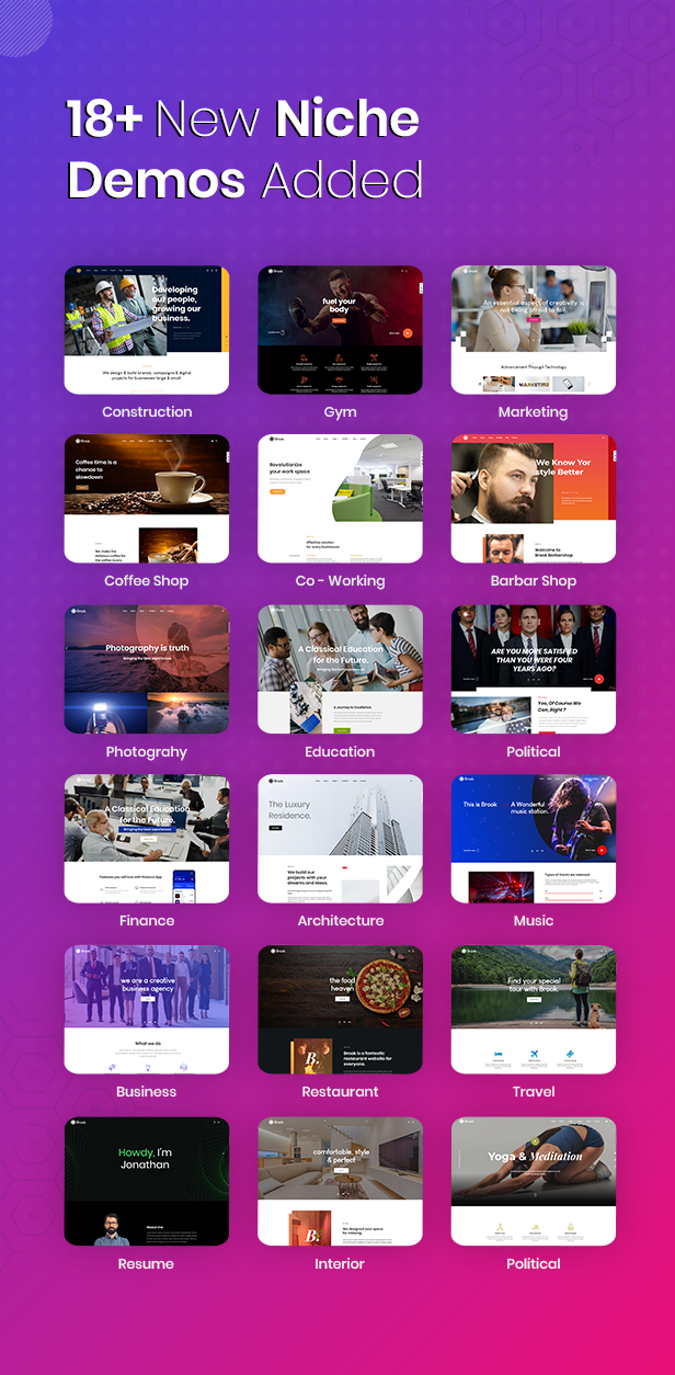 brook niche 3 - Brook - Creative Agency & Business HTML Template