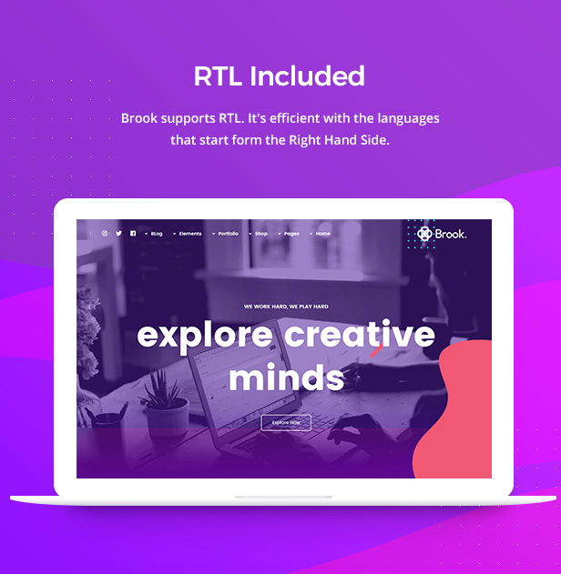 brook rtl - Brook - Creative Agency & Business HTML Template