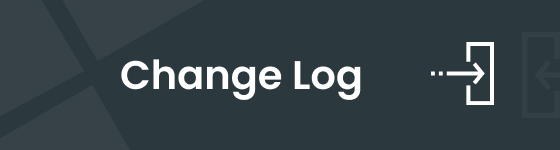 change log banner - Cleaning Services WordPress Theme + RTL