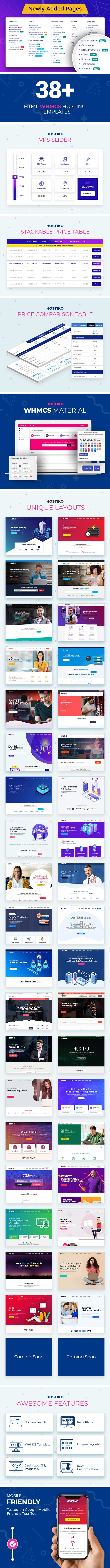 cover38 18 - Hostiko - Hosting HTML & WHMCS Template With Isometric Design