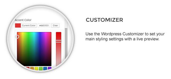 customizer - Speaker - One-Page Music Wordpress Theme