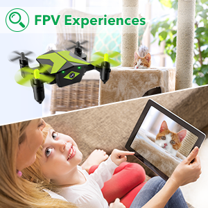 d0a326fb 7bbf 48e0 a00b 4c0edc4c7fa6.  CR0,0,300,300 PT0 SX300 V1    - Drone with Camera Drones for Kids Beginners, RC Quadcopter with App FPV Video, Voice Control, Altitude Hold, Headless Mode, Trajectory Flight, Foldable Kids Drone Boys Gifts Girls Toys-Green