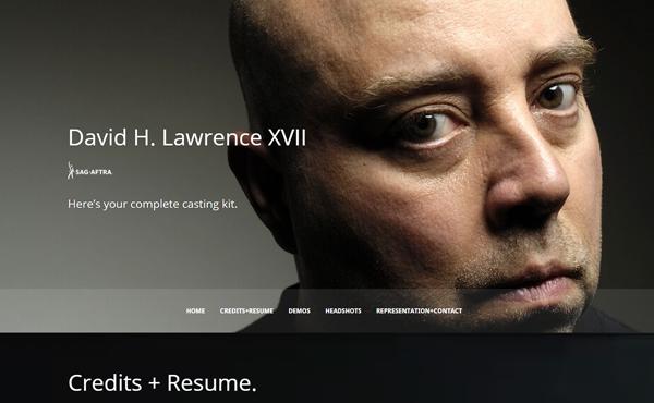 davidhlawrencexvii - Speaker - One-Page Music Wordpress Theme