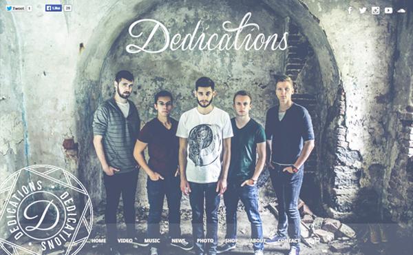 dedications - Speaker - One-Page Music Wordpress Theme
