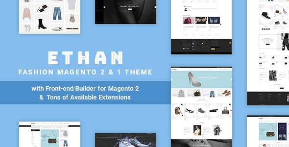 ethan preview - Unero – Minimalist Magento 2 and 1 Theme