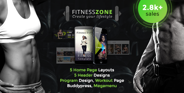 fitness zone.  large preview - Enfold - Responsive Multi-Purpose Theme