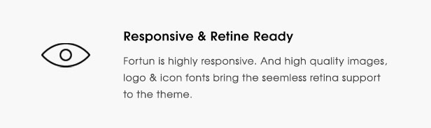 fortun description feature retina - Fortun   Multi-Concept WordPress Theme