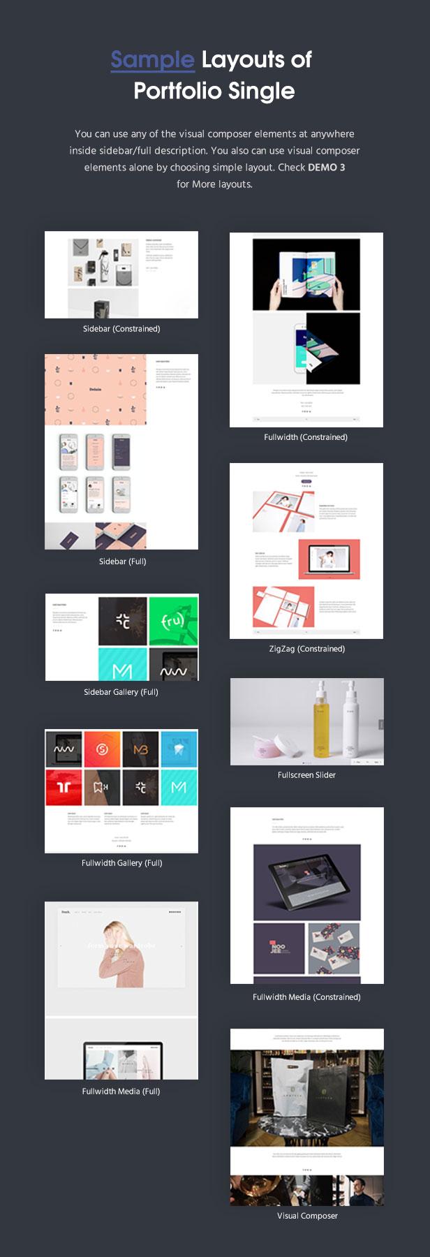 fortun description portfolio single v2 - Fortun   Multi-Concept WordPress Theme