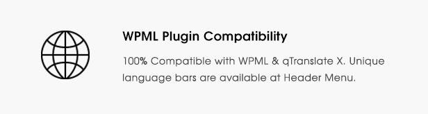 fortune description feature wpml - Fortun   Multi-Concept WordPress Theme