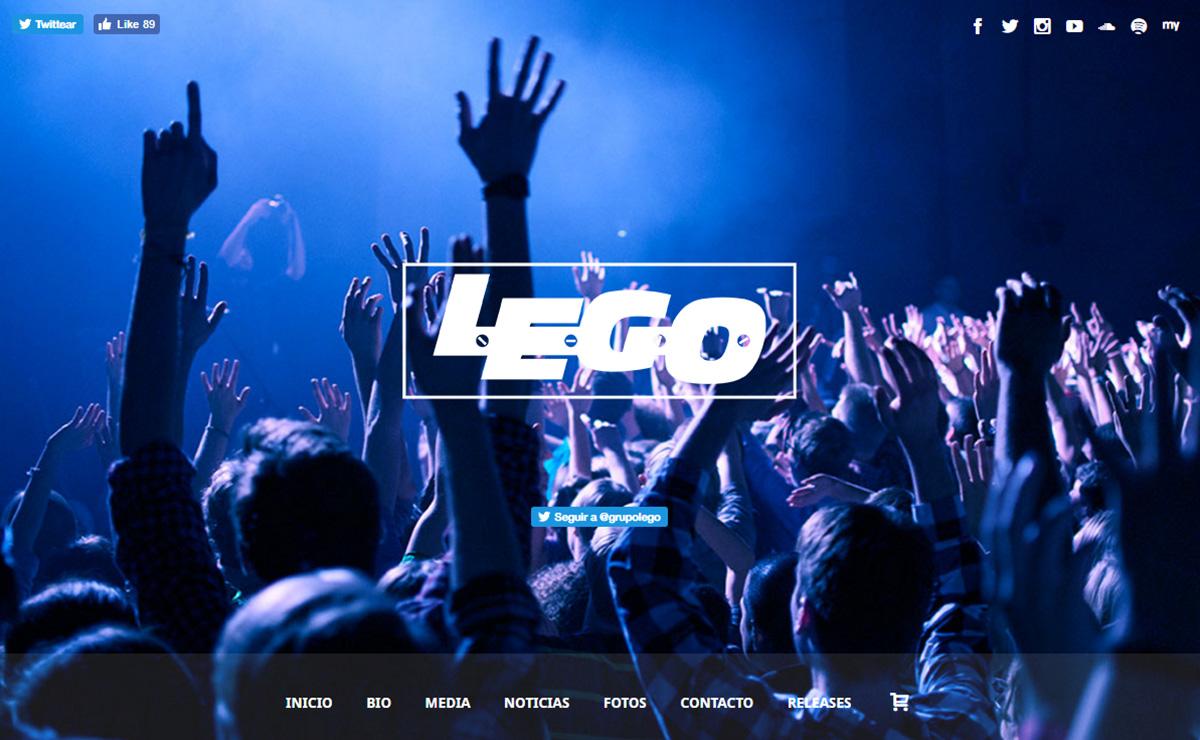 grupolego - Speaker - One-Page Music Wordpress Theme