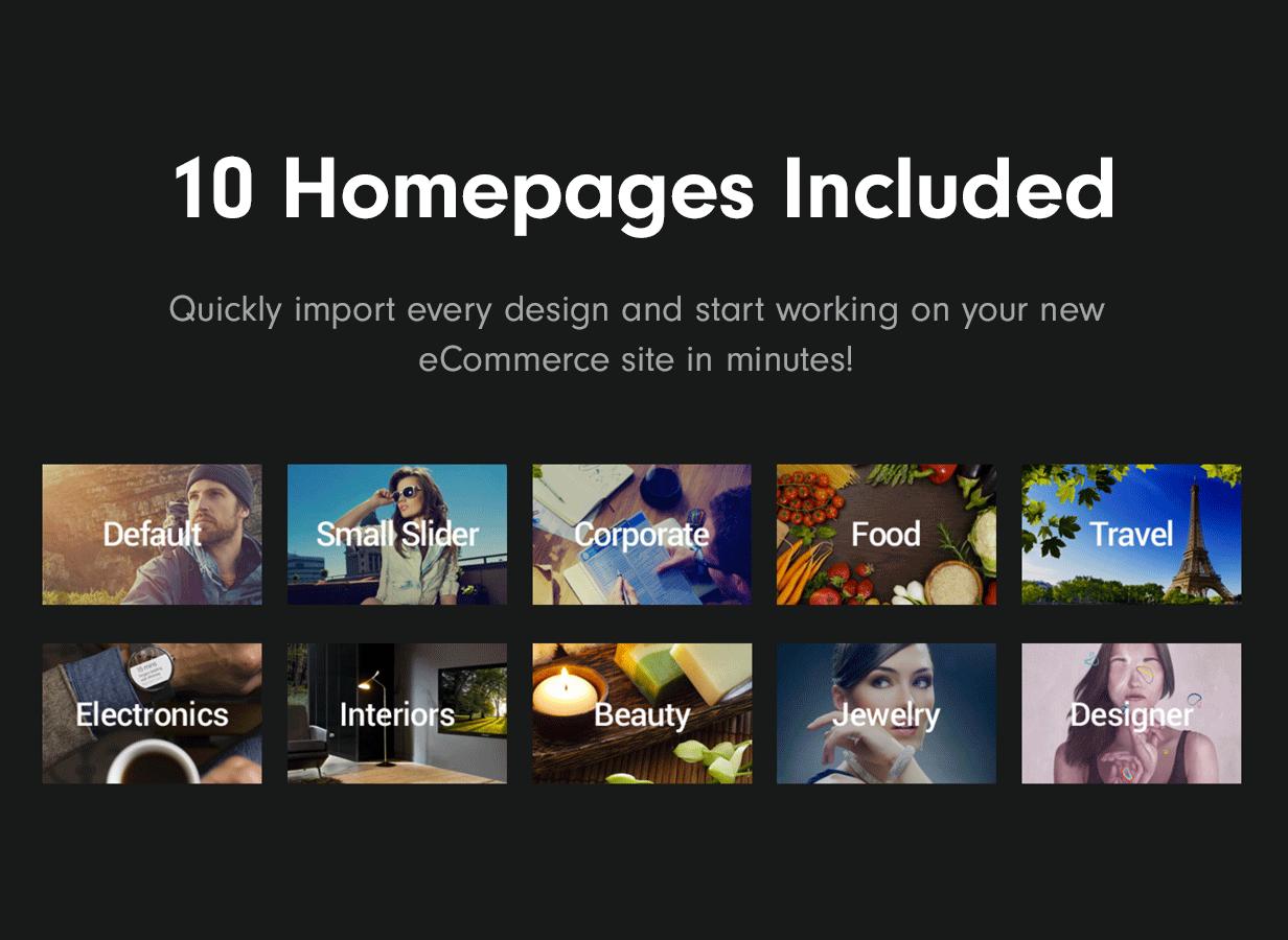 homepages2019 - Adrenalin - Multi-Purpose WooCommerce Theme