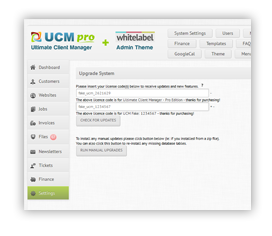 how to install - UCM Theme: White Label