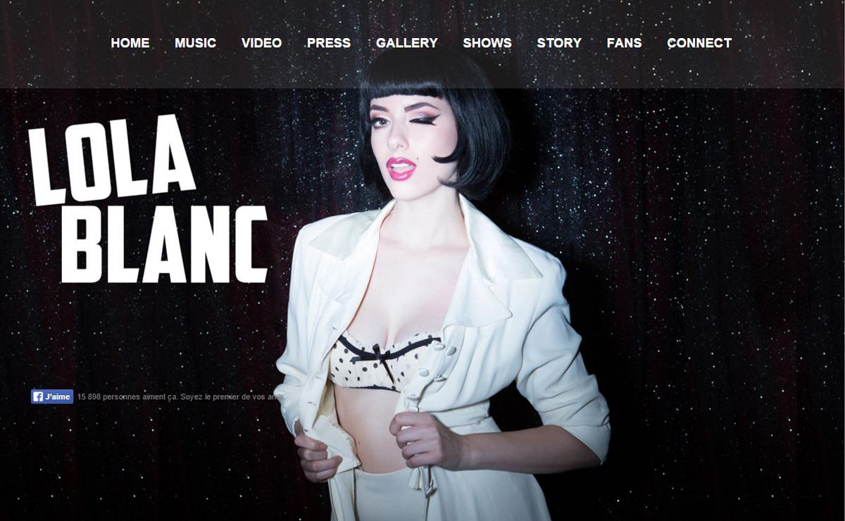 lola blanc - Speaker - One-Page Music Wordpress Theme