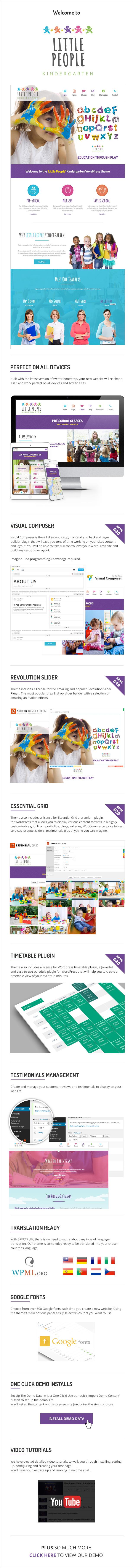 maininfo - Little People   Kindergarten WordPress Theme for PreScool