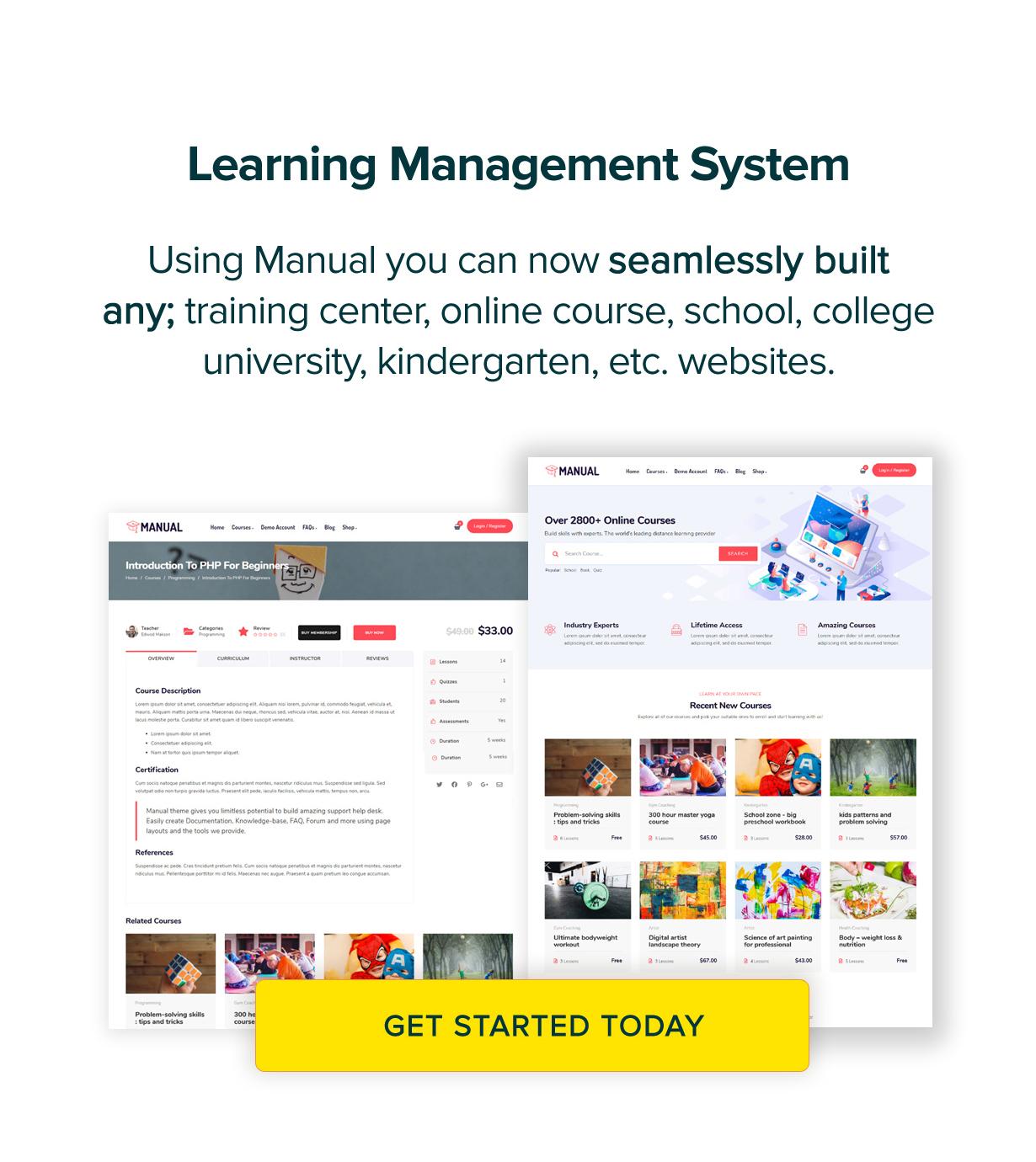 manual new version 6 4 new intro 3 - Manual - Documentation, Knowledge Base & Education WordPress Theme