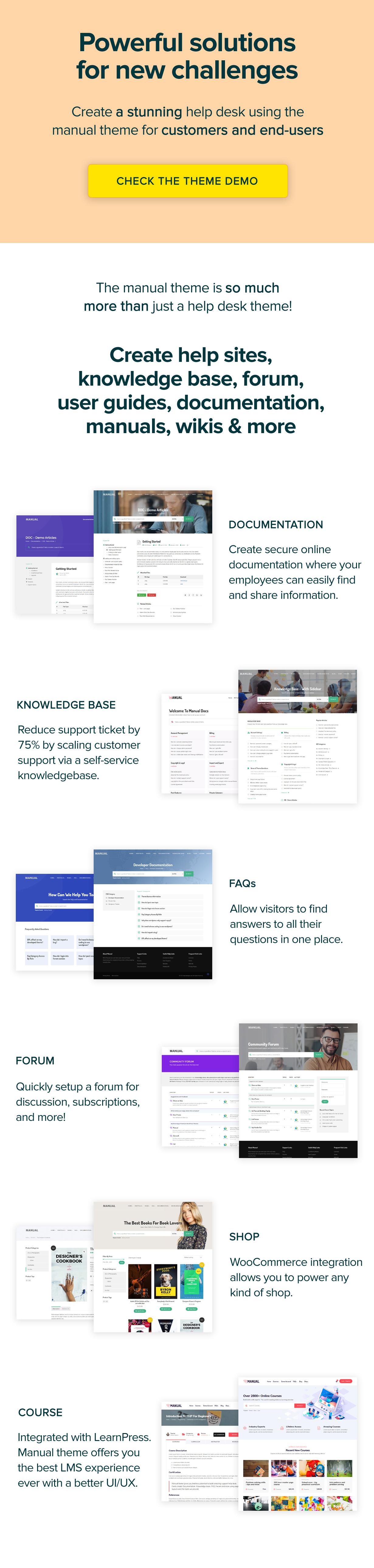 new manual theme head upgrade - Manual - Documentation, Knowledge Base & Education WordPress Theme
