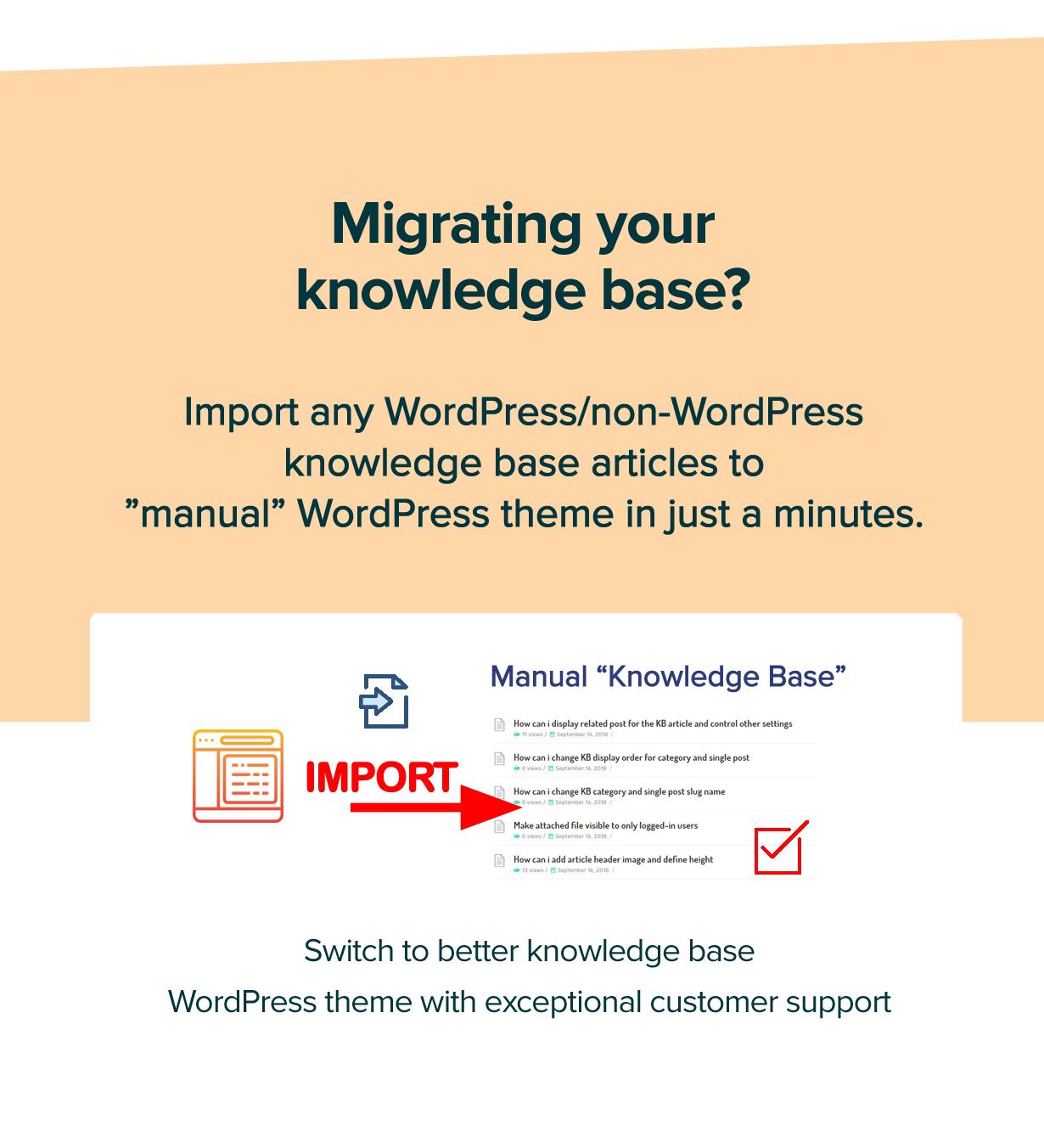 new manual theme migrating - Manual - Documentation, Knowledge Base & Education WordPress Theme