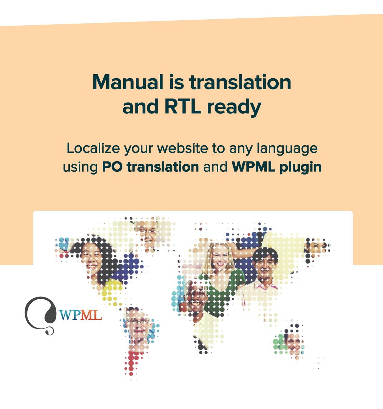 new manual theme rtl localize - Manual - Documentation, Knowledge Base & Education WordPress Theme