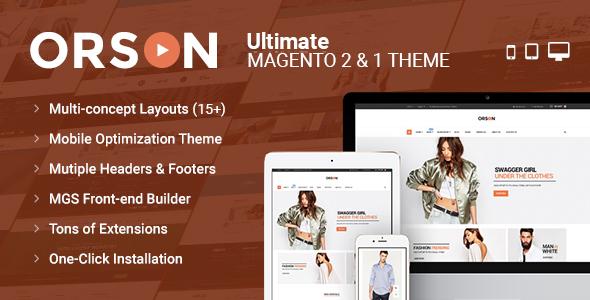 orson preview - Unero – Minimalist Magento 2 and 1 Theme
