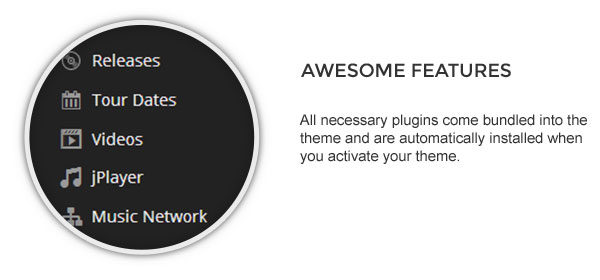 plugins - Speaker - One-Page Music Wordpress Theme