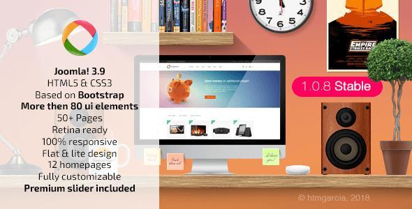 preview.  large preview - Progressive :: Multipurpose Joomla Template
