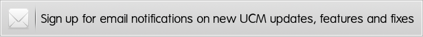 receive ucm update notifications by email - UCM Theme: White Label