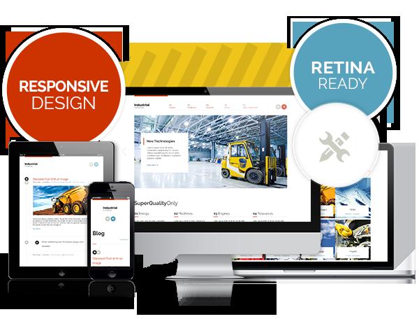 responsive - Industrial - Multi-Purpose Responsive WP Theme