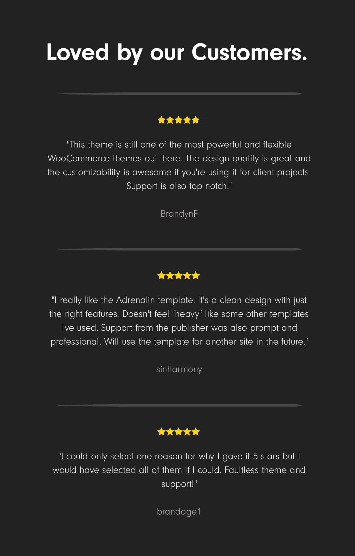 reviews2019 - Adrenalin - Multi-Purpose WooCommerce Theme