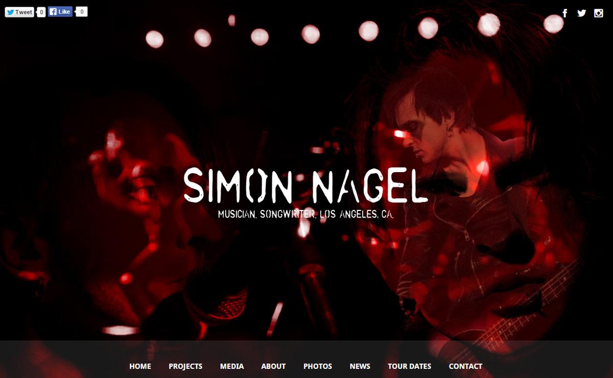 simonnagelmusic - Speaker - One-Page Music Wordpress Theme