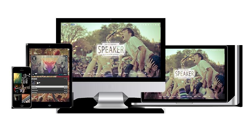 speaker - Speaker - One-Page Music Wordpress Theme