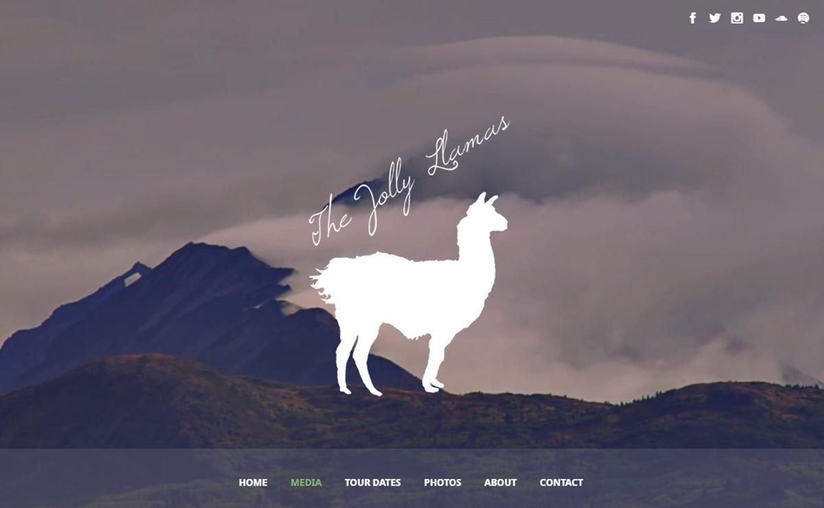 thejollyllamas - Speaker - One-Page Music Wordpress Theme