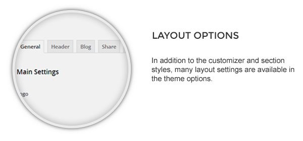 theme options - Speaker - One-Page Music Wordpress Theme