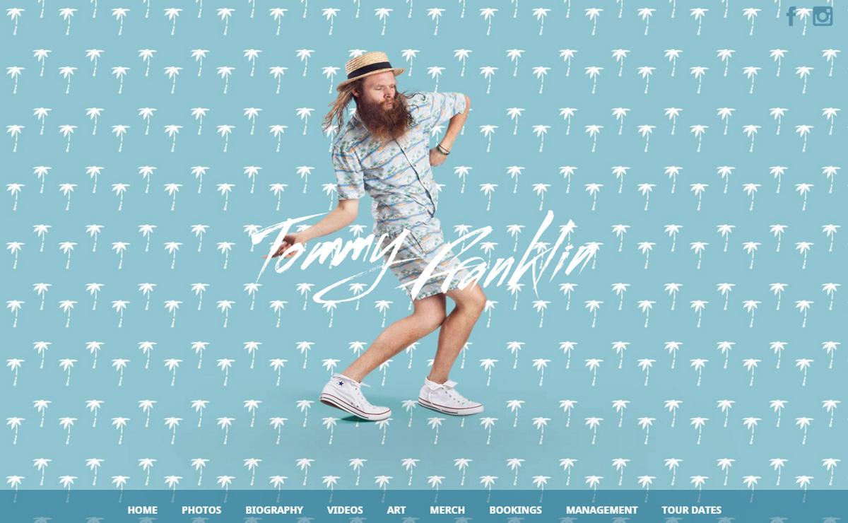 tommy franklin - Speaker - One-Page Music Wordpress Theme